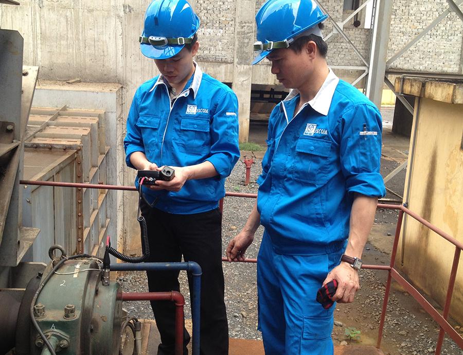 Dịch vụ đo rung động và cân bằng động PECOM - FAG